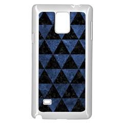 TRI3 BK-MRBL BL-STONE Samsung Galaxy Note 4 Case (White) by trendistuff