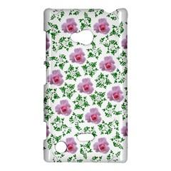 Rose Flower Pink Leaf Green Nokia Lumia 720 by Alisyart