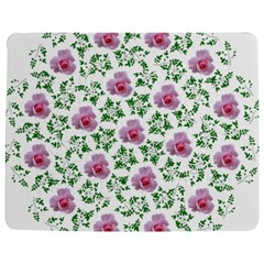 Rose Flower Pink Leaf Green Jigsaw Puzzle Photo Stand (rectangular) by Alisyart