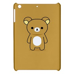 Bear Minimalist Animals Brown White Smile Face Apple Ipad Mini Hardshell Case by Alisyart