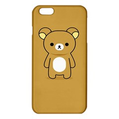 Bear Minimalist Animals Brown White Smile Face Iphone 6 Plus/6s Plus Tpu Case by Alisyart