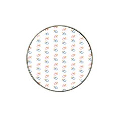 Baby Pacifier Pink Blue Brown Kids Hat Clip Ball Marker (4 Pack) by Alisyart