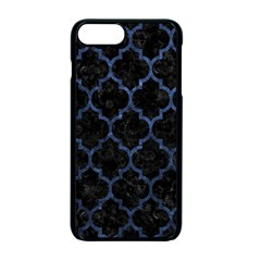 Tile1 Black Marble & Blue Stone Apple Iphone 7 Plus Seamless Case (black) by trendistuff