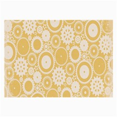Wheels Star Gold Circle Yellow Large Glasses Cloth by Alisyart