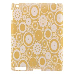 Wheels Star Gold Circle Yellow Apple Ipad 3/4 Hardshell Case by Alisyart