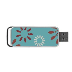 Fish Animals Star Brown Blue White Portable Usb Flash (two Sides) by Alisyart