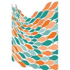 Fish Color Rainbow Orange Blue Animals Sea Beach 5 5  X 8 5  Notebooks by Alisyart