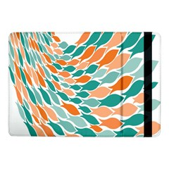 Fish Color Rainbow Orange Blue Animals Sea Beach Samsung Galaxy Tab Pro 10 1  Flip Case by Alisyart