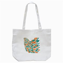 Fish Color Rainbow Orange Blue Animals Sea Beach Tote Bag (white) by Alisyart