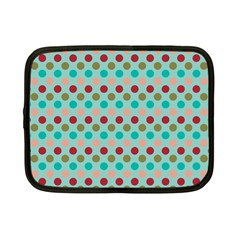 Large Circle Rainbow Dots Color Red Blue Pink Netbook Case (small)  by Alisyart