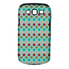 Large Circle Rainbow Dots Color Red Blue Pink Samsung Galaxy S Iii Classic Hardshell Case (pc+silicone) by Alisyart
