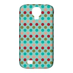 Large Circle Rainbow Dots Color Red Blue Pink Samsung Galaxy S4 Classic Hardshell Case (pc+silicone) by Alisyart