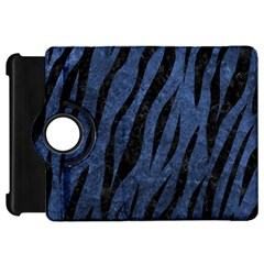 Skin3 Black Marble & Blue Stone (r) Kindle Fire Hd Flip 360 Case by trendistuff