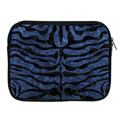 SKN2 BK-MRBL BL-STONE (R) Apple iPad 2/3/4 Zipper Cases