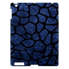 Skin1 Black Marble & Blue Stone Apple Ipad 3/4 Hardshell Case by trendistuff