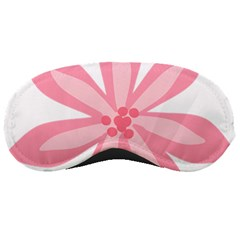 Pink Lily Flower Floral Sleeping Masks by Alisyart