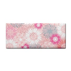 Flower Floral Sunflower Rose Pink Cosmetic Storage Cases by Alisyart