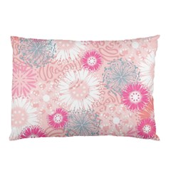 Flower Floral Sunflower Rose Pink Pillow Case by Alisyart