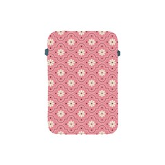 Pink Flower Floral Apple Ipad Mini Protective Soft Cases by Alisyart
