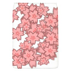 Flower Floral Pink Flap Covers (s)  by Alisyart