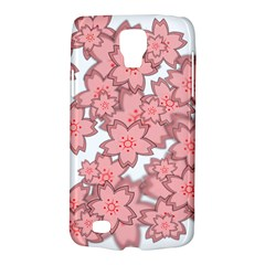 Flower Floral Pink Galaxy S4 Active by Alisyart