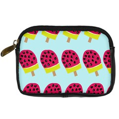 Watermelonn Red Yellow Blue Fruit Ice Digital Camera Cases by Alisyart