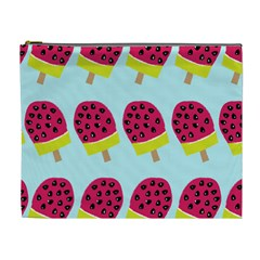 Watermelonn Red Yellow Blue Fruit Ice Cosmetic Bag (xl) by Alisyart