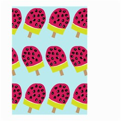 Watermelonn Red Yellow Blue Fruit Ice Small Garden Flag (two Sides) by Alisyart