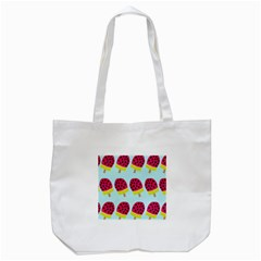 Watermelonn Red Yellow Blue Fruit Ice Tote Bag (white) by Alisyart
