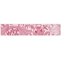 Vintage Style Floral Flower Pink Flano Scarf (large) by Alisyart