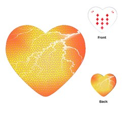 Exotic Backgrounds Playing Cards (heart)  by Simbadda