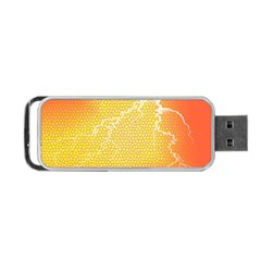 Exotic Backgrounds Portable Usb Flash (two Sides) by Simbadda