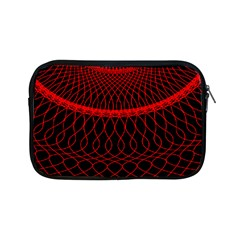 Red Spiral Featured Apple Ipad Mini Zipper Cases by Alisyart