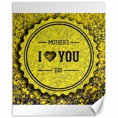Happy Mother Day Canvas 16  X 20   by Simbadda