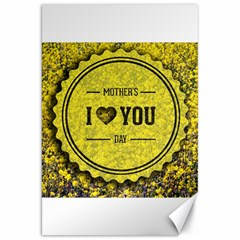 Happy Mother Day Canvas 20  X 30   by Simbadda
