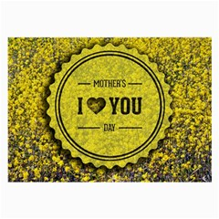 Happy Mother Day Large Glasses Cloth (2 Side) by Simbadda