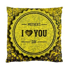 Happy Mother Day Standard Cushion Case (two Sides) by Simbadda