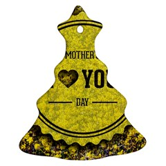 Happy Mother Day Ornament (christmas Tree)  by Simbadda