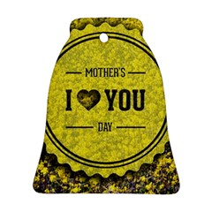Happy Mother Day Bell Ornament (two Sides) by Simbadda