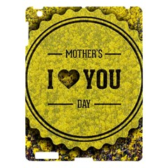 Happy Mother Day Apple Ipad 3/4 Hardshell Case by Simbadda