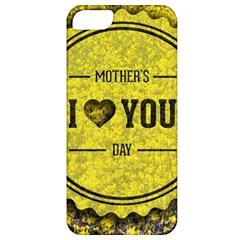 Happy Mother Day Apple Iphone 5 Classic Hardshell Case by Simbadda