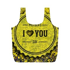 Happy Mother Day Full Print Recycle Bags (m)  by Simbadda