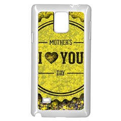Happy Mother Day Samsung Galaxy Note 4 Case (white) by Simbadda