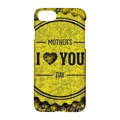Happy Mother Day Apple Iphone 7 Hardshell Case by Simbadda