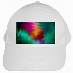Colourful Weave Background White Cap by Simbadda