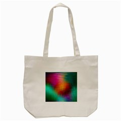 Colourful Weave Background Tote Bag (cream) by Simbadda