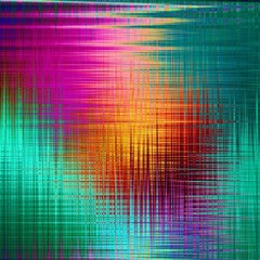 Colourful Weave Background Magic Photo Cubes by Simbadda