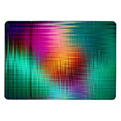 Colourful Weave Background Samsung Galaxy Tab 10 1  P7500 Flip Case by Simbadda