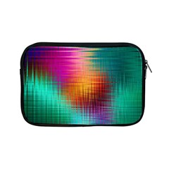 Colourful Weave Background Apple Ipad Mini Zipper Cases by Simbadda