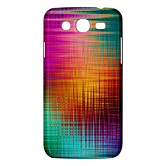 Colourful Weave Background Samsung Galaxy Mega 5 8 I9152 Hardshell Case  by Simbadda